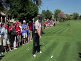 Justin Rose swing video #2 from Tavistock Cup