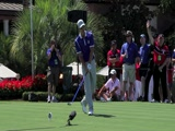Henrik Stenson swing video #1 from Tavistock Cup